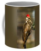 A Pileated With Intent Coffee Mug
