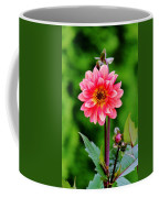 A Pink Flower Coffee Mug