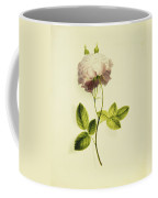 A Pink Rose Coffee Mug by James Holland