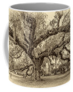 A Place For Dying Sepia 2 Coffee Mug