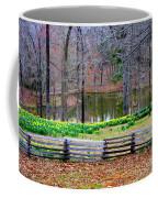 A Place Of Peace Among The Daffodils Coffee Mug