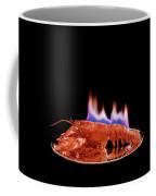 A Plate Of Lobster Flambe Coffee Mug
