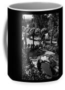 A Pond In An Ornamental Garden Coffee Mug