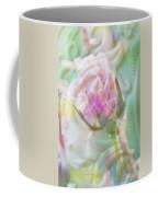 A Porcelain Rose Coffee Mug