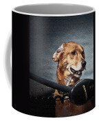 A Portrait Of A Golden Retriever Coffee Mug