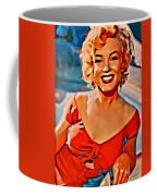 A Portrait Of Marilyn Coffee Mug