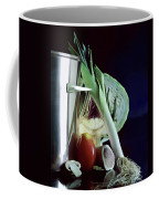 A Pot With Assorted Vegetables Coffee Mug