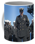 A Prayer Is Delivered During A Burial Coffee Mug
