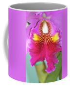 A Purple Cattelaya  Orchid Coffee Mug