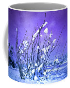 A Purple Winter Coffee Mug