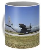 A Qatar Emiri Air Force C-130j-30 Coffee Mug