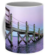 A Quiet Evening At Dusk With A Moonrise Coffee Mug