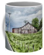 A Quilted Barn Coffee Mug by Heather Applegate