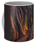 A Radiant Heart Light Coffee Mug by Daina White