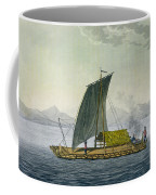 A Raft Leaving The Port Of Guayaquil Coffee Mug