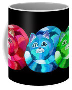 A Rainbow Cats 2 Coffee Mug