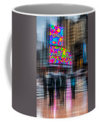 A Rainy Day In New York Coffee Mug by Hannes Cmarits