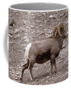 A Ram Climbing  Coffee Mug
