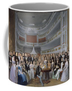 A Reading Of Ventura De La Vega Coffee Mug