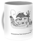 A Real Estate Agent Tries To Hide From Potential Coffee Mug by Zachary Kanin