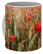 A Red Dressed Beauty  Coffee Mug