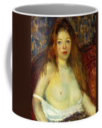 A Red-haired Model Coffee Mug by William James Glackens