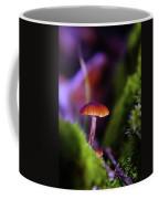 A Red Mushroom  Coffee Mug