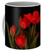 A Red Tulip Day Coffee Mug