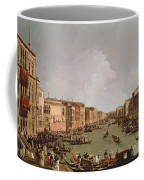 A Regatta On The Grand Canal Coffee Mug