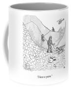 A Rescue Team Locates A Man Buried Coffee Mug