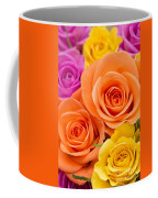 A Riot Of Roses Coffee Mug