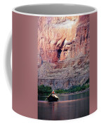 A River Guide Rowing A Wooden Dory Coffee Mug