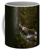 A River Passes Through Coffee Mug by Mike Reid