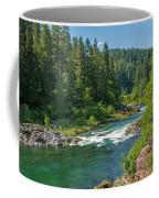A River Runs Through It Coffee Mug by Denise Bird