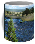 A River Runs Through Yellowstone Coffee Mug