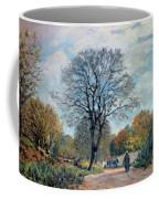 A Road In Seine-et-marne, 1878 Coffee Mug
