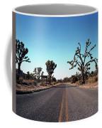 A Road Leads Through Joshua National Coffee Mug
