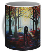 A Romantic Kiss Coffee Mug