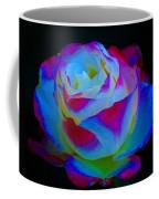 A Rose Enhanced Coffee Mug