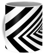 A Round Peg In A Square Hole Coffee Mug