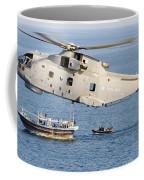 A Royal Navy Merlin Helicopter  Coffee Mug