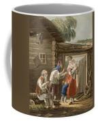 A Russian Peasant Family, 1823 Coffee Mug