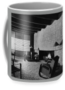 A Rustic Living Room Coffee Mug