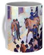 A Sale At Tattersalls, 1911 Coffee Mug by Robert Polhill Bevan