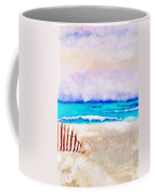 A Sand Filled Beach Coffee Mug