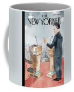 A Scene From The Presidential Debate Coffee Mug