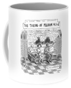 A Scene From The Upcoming The Taking Of Pelham Coffee Mug