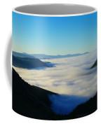 A Sea Of Fog  Coffee Mug