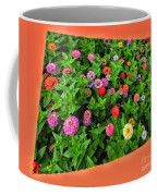 A Sea Of Zinnias 06 Coffee Mug