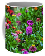 A Sea Of Zinnias 14 Coffee Mug